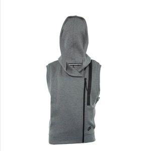 NWT Nike Tech Fleece Cape Vest Dark Gray Size S